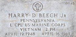 LCpl Harry David Beech, Jr
