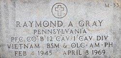 PFC Raymond Anthony Gray