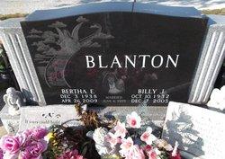 Bertha E. <i>Owens</i> Blanton