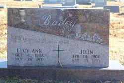 Lucy Ann <i>Boatright</i> Bailey