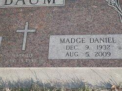 Madge <i>Daniel</i> Baum