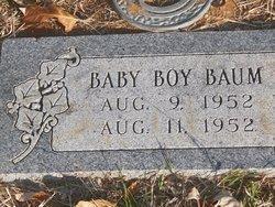 Infant Boy Baum