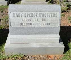 Mary <i>Spence</i> Wootters