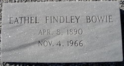 Eathel <i>Findley</i> Bowie