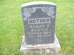 Susan D. <i>Duggins/Tannehill</i> Baxter