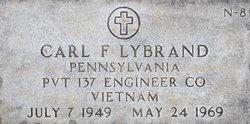 Pvt Carl Frederick Lybrand