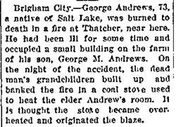 Amos Montgomery George Andrews