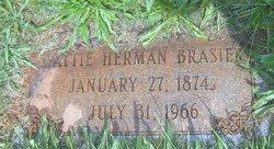 Martha Jane Mattie <i>Herman</i> Brasier