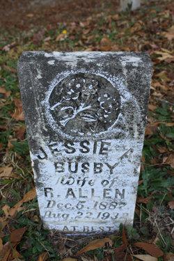 Jessie A <i>Busby</i> Allen