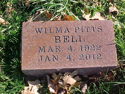 Wilma Fern <i>Pitts</i> Bell