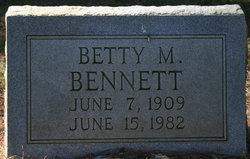 Betty M. Bennett