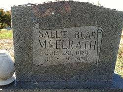 Sarah Willis Sally <i>(Fry) (Bear)</i> Mcelrath