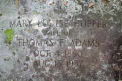 Mary Louise <i>Hopper</i> Adams