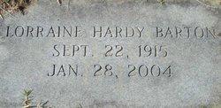 Lorraine Henny <i>Hardy</i> Barton
