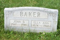 Ella Ann <i>Carpenter</i> Baker