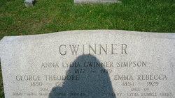 Anna Lydia <i>Simpson</i> Gwinner