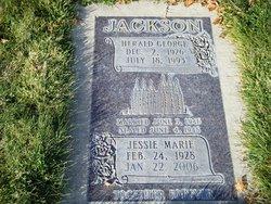 Jessie Marie <i>Nattress</i> Jackson