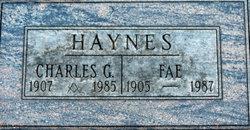 Mary Fae Fae <i>Hodge</i> Haynes