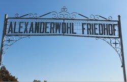 Alexanderwohl Friedhof Cemetery