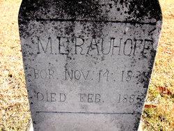 M. E. Rauhoff