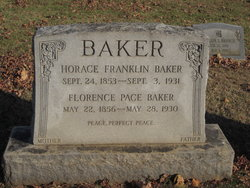 Florence Pace Baker
