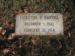 Dorothy D Bayliss