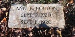 Ann E Bolton