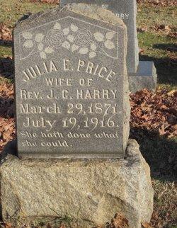 Julia E <i>Price</i> Harry
