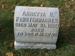 Annetta R. <i>Weider</i> Fenstermacher