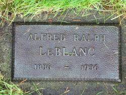 Alfred Raphael Leblanc