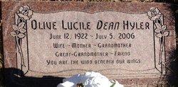 Olive Lucile <i>Dean</i> Hyler