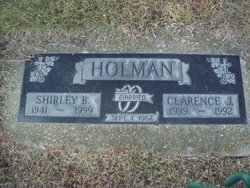 Shirley B Holman
