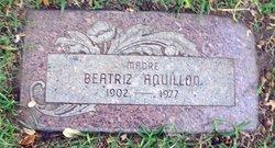 Beatriz Aquillon