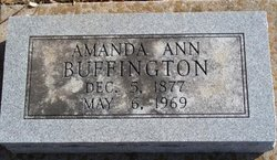 Amanda Ann <i>Green</i> Buffington