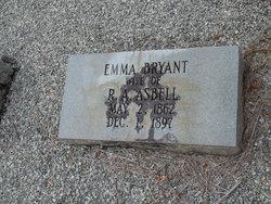 Emma <i>Bryant</i> Asbell