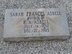 Sarah Frances Asbell