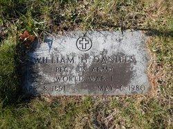 William H Daniels