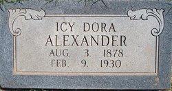 Icy Dora <i>Robinson</i> Alexander