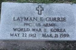 Layman E. Currie