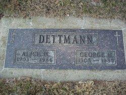 George H Dettmann