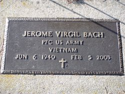 Jerome V Bach