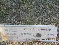 Dorothy O <i>Walsleben</i> Ashmore