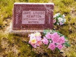 Jane Louise <i>Badger</i> Kempton