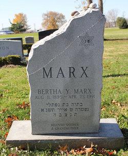 Bertha Y. <i>Steinberger</i> Marx