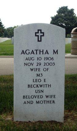 Agatha M Beckwith