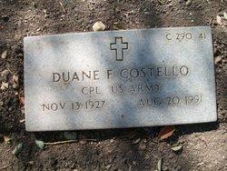 Corp Duane F Costello