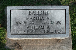 Martha Virginia <i>Staples</i> Ballou