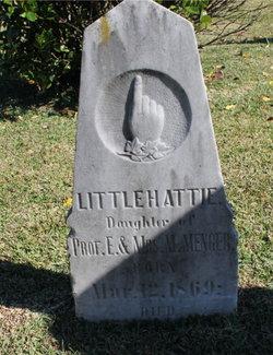 Harriet Emily Hattie Menger