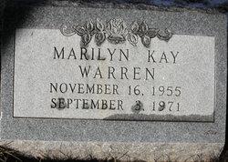 Marilyn Kay Warren