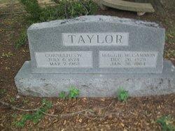 Maggie <i>McCammon</i> Taylor